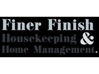 Job Vacancy at Finer Finish Housekeeping & Home Management