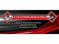 R J Plastering/Renovations