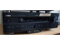 Yamaha DSP-AX620 Amp & Sony CDP-XE330 CD Player for Sale - both have remote controls