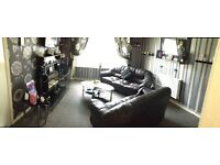1 bed ground floor flat wanting 2/3 bed