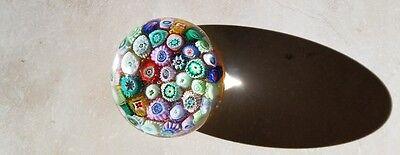 Vintage Millefiori Paperweight Art Glass