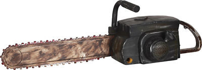 Morris Costumes Chainsaw Plastic Animated Small Decorations & Prop. SS55578G](Halloween Chainsaws)
