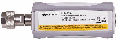 Hp Agilent Keysight U8481a Power Sensor Usb Thermocouple 10mhz-18ghz Opt. 100