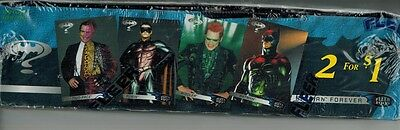 1995 FLEER UNOPENED  BATMAN FOREVER BOX  100 PACKS 600 CARDS