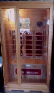Helisa Infrared Sauna - 2 Person Unit - Therapeutic Heat!