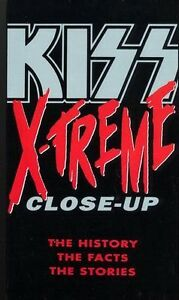 KISS XTREME CLOSE-UP en VHS