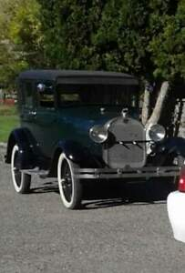 1928 Ford leather  Back  $15500