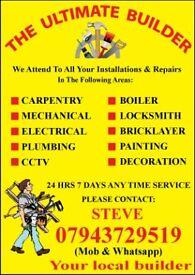 Plumb#Electric#Hob Gas Cooker#CCTV#TV Mount Instal Repair#Sink Toilet Shower Unblock#Wash Machin#Tap