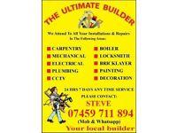 Electricia#Plumb#Painter#CCTV#TV Repair Mount#AC#Electric Cooker Instal#Hob#Sky#Bell#Radiator#Dryer