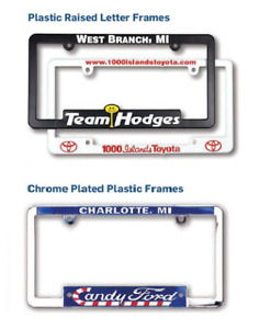 Custom License Plate Frames Plate Protectors Covers