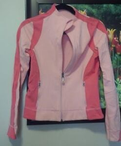 Lululemon Pink cotton jacket