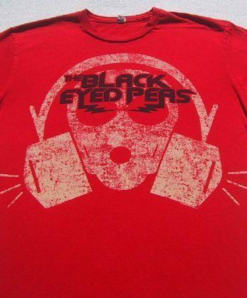 BLACK EYED PEAS size MEDIUM T-SHIRT