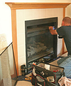Full 16 Point Gas Fireplace Clean & Service