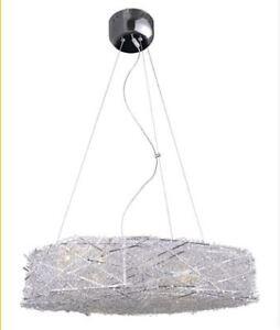 Stylish  Modern  fuzzy  wire  birdsnest  light