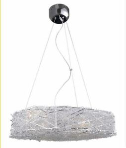 Stylish Modern fuzzy wire birdsnest light