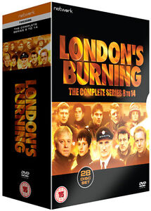 LONDON'S BURNING the complete series 8 to 14. 28 discs. Brand new sealed DVD.