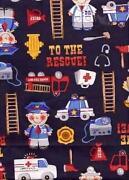 Ambulance Fabric