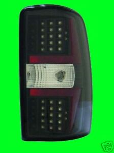 2001 2002 2003 GMC Yukon Denali BLACK LED TAIL LIGHTS