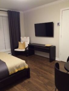 NEW BEAUTIFUL BACHELOR FURNISHED ALL INCLUSIVE UNLIMITED WIFI