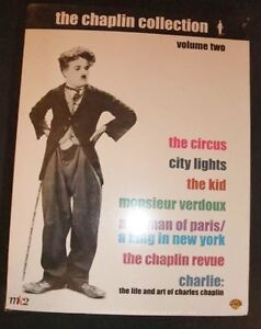 The Chaplin DVD Collection Volume Two - new