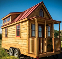 Win a tiny home on Vancouver Island