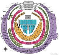 TAYLOR SWIFT 1989 OCT 3 TWO TICKETS SEC 130A ROW 4 (GREAT VIEW!)