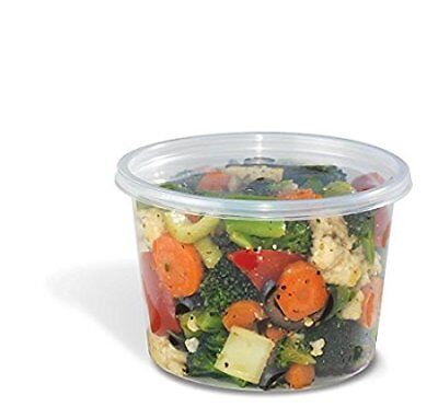 Safepro Food Storage Containers With Lids 16-ounce 50 Pcs