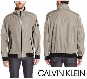 NEW Calvin Klein Mens Laminated Rip Stop Jacket XL