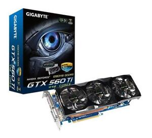 Gigabyte 560 ti 448 Classified $50 bete puissant... mint beast