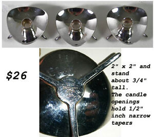 Assorted Oil Lamps and Candle Holders  ---H8Z1W9--- West Island Greater Montréal image 1