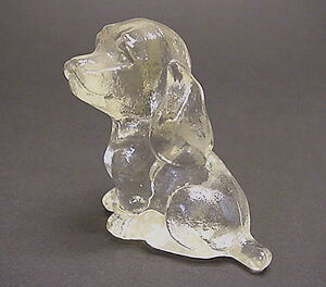 Vintage Goebel Clear Glass Cocker Spaniel, signed Kitchener / Waterloo Kitchener Area image 3