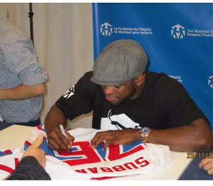 PK SUBBAN  76 AUTOGRAPHED WINTER CLASSIC 2016 JERSEY