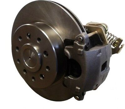 """Bolt on Rear Disc Brake Kit   8"""" & 9"""" Ford w/Small Ends - W/ GM E-brake Calipers"""