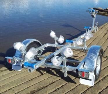 trailer boat range 4 3.6 tinny aluminium stacer Quintrix pwc in Belrose Warringah Area Preview