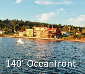 Oceanfront Hotel in Sointula, BC
