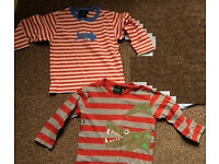 2 x Boden long sleeve TShirts 2-3 yrs (great for pirate costume)