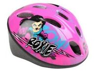 NEW, GIRLS KIDS CHILD CYCLING HELMET BIKE BICYCLE SKATING SCOOTING HELMET Sizes: S, 48-52 cm