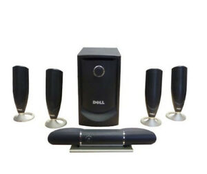(BRAND NEW IN BOX) DELL 5.1 MULTIMEDIA SPEAKERS + SUBWOOFER