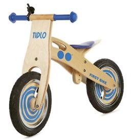 Tidlo First Balance Bike (Blue) - UNOPENED, BRAND NEW