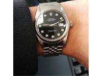 ROLEX DATEJUST - DIAMOND DOT DIAL