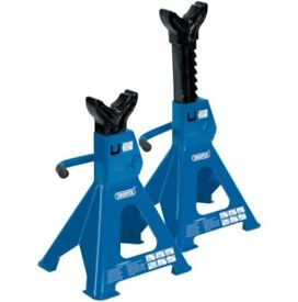 3 TONNE AXLE STANDS PACK OF 2 = 6 TON - DRAPER 30881