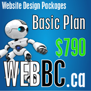 Affordable Vancouver Web Design and SEO Company Basic Plan