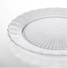 80qty FRODIG Plates - Tempered Glass - Ikea