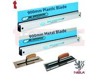 "OX SPEEDSKIM 900MM PLASTIC & METAL PACK + NELA 14"" SUPERFLEX & PREMIUM TROWEL DEAL"