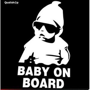 Car sticker Baby On Board Warning - Baby on Board sign
