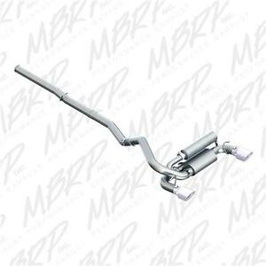 MBRP 2016+ Ford Focus RS 3in Aluminized Dual Outlet Cat-Back