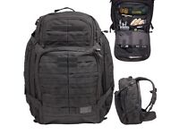 5 11 tactical backpack. 72 hour in black. As new in perfect condition.