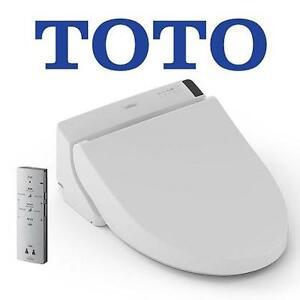 NEW* TOTO ELONGATED WASHLET - 116850823 - C200 SEDONA COTTON WHITE BATHROOM TOILET WASHROOM FIXTURE BIDET