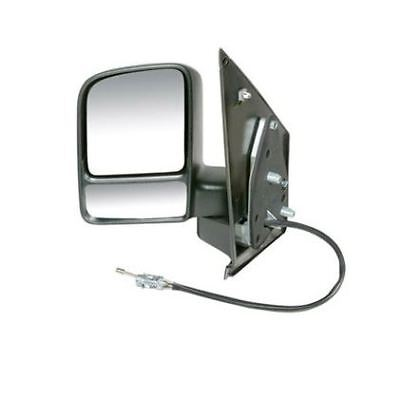 Ford Transit Connect 2002 2013 Door Wing Mirror Manual Black NS Passenger Left