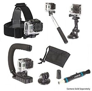 Sunpack - gopro or any Camera Accessory kit, 7-in-1